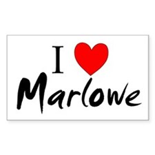 Cute Christopher marlowe Decal