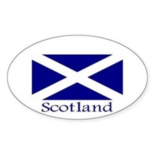 """Scotland"" Oval Decal"