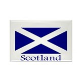 &quot;Scotland&quot; Rectangle Magnet (10 pack)