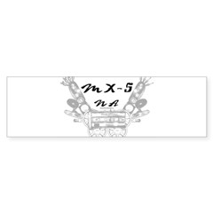 MX-5 na Sticker (Bumper 10 pk)