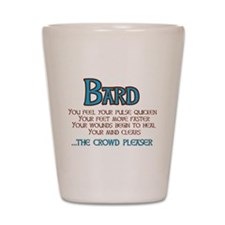 Bard: The Crowd Pleaser Shot Glass