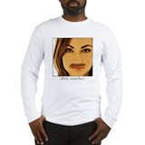 Funny Dirty sanchez Long Sleeve T-Shirt
