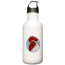 Orpington Rooster Circle Water Bottle
