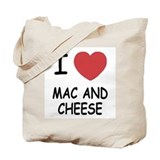 I heart mac and cheese Tote Bag