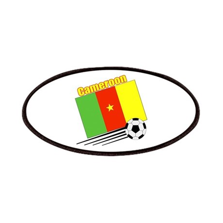Cameroon Soccer Team Patches