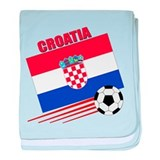 Croatia Soccer Team baby blanket