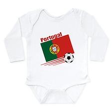 Portugal Soccer Team Long Sleeve Infant Bodysuit