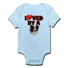 Loved by a Border Collie Onesie