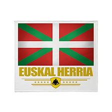 Euskal Herria Throw Blanket