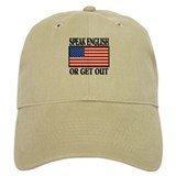 American Speak English or Get Out Baseball Cap