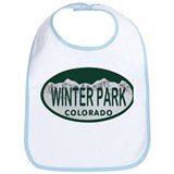 Winterpark Colo License Plate Bib