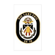 USS Lake Erie CG 70 Rectangle Decal