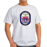 USS Anzio CG 68 Ash Grey T-Shirt