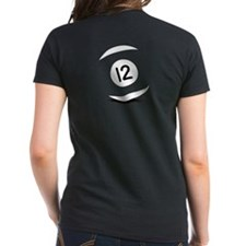 Women's 12 ball purple T-Shirt