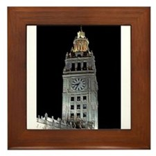 Chicago Tribune Framed Tile