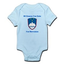 Slovenian Emblem Infant Bodysuit
