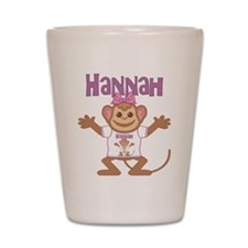 Little Monkey Hannah Shot Glass