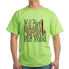 Will Play Bass Clarinet T-Shirt