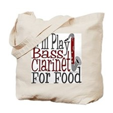 Will Play Bass Clarinet Tote Bag