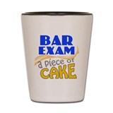 Bar Exam - Piece of Cake Shot Glass