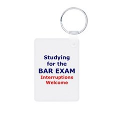 Bar Exam 2 Keychains
