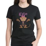Little Monkey Katie Women's Dark T-Shirt