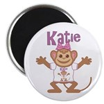 Little Monkey Katie Magnet