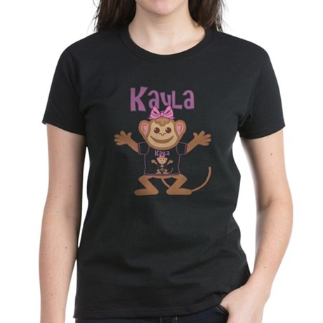 Little Monkey Kayla Women's Dark T-Shirt