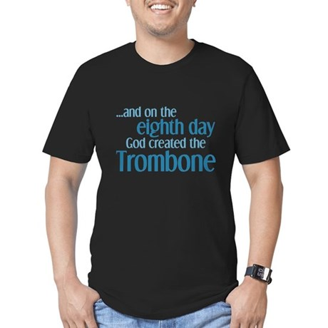 Trombone Creation Men's Fitted T-Shirt (dark)