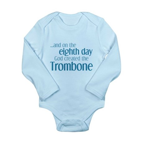 Trombone Creation Long Sleeve Infant Bodysuit