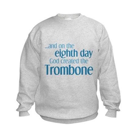 Trombone Creation Kids Sweatshirt