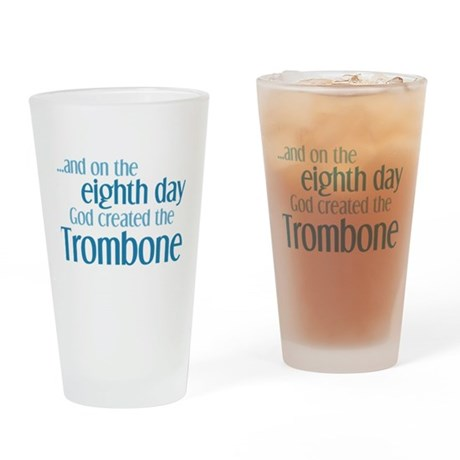 Trombone Creation Drinking Glass