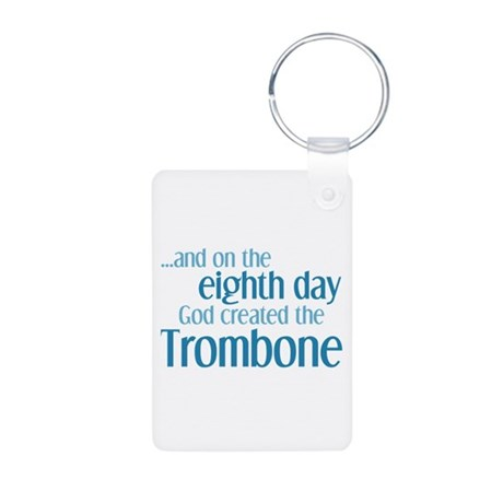 Trombone Creation Aluminum Photo Keychain