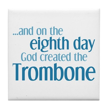 Trombone Creation Tile Coaster