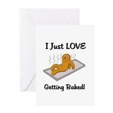 Love Getting Baked Greeting Card