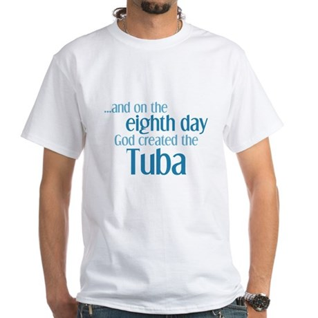 Tuba Creation White T-Shirt