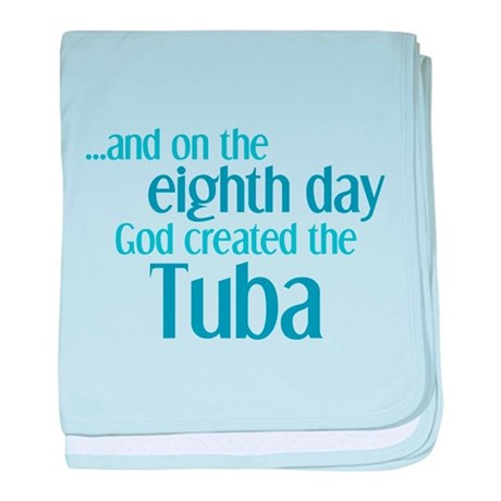 Tuba Creation baby blanket