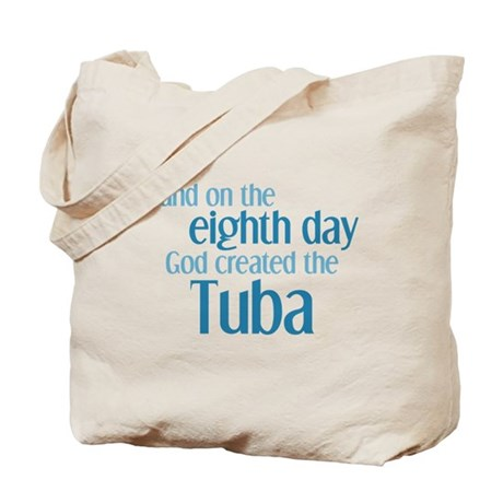 Tuba Creation Tote Bag