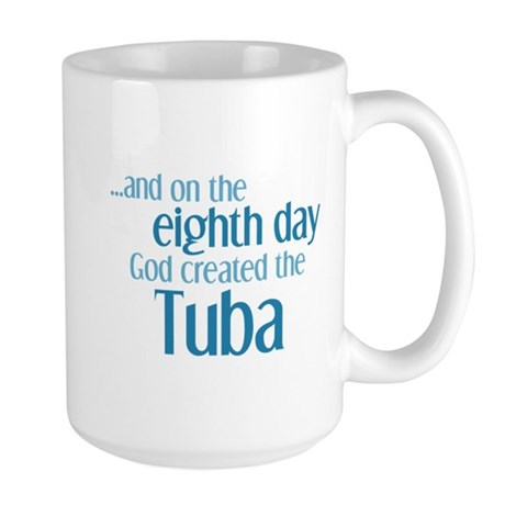 Tuba Creation Large Mug