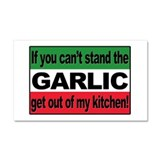Garlic Car Magnet 20 x 12