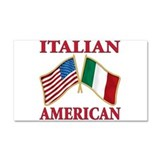 Italian american Pride Car Magnet 20 x 12