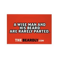 Beard Rectangle Magnet