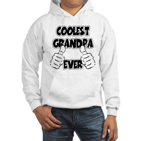 Coolest Grandpa Ever Hooded Sweatshirt