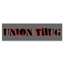 Original Union Thug Car Sticker