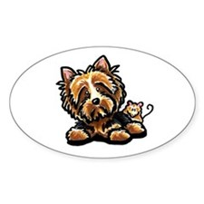 Norwich Terrier Cartoon Decal