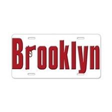Brooklyn, New York Aluminum License Plate