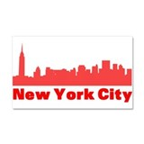 New York City Car Magnet 20 x 12