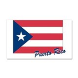 Flag of Puerto rico Car Magnet 20 x 12
