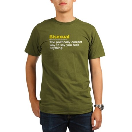 Bisexual politically correct Organic Men's T-Shirt