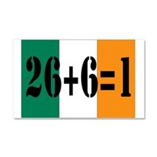 Irish pride Car Magnet 20 x 12